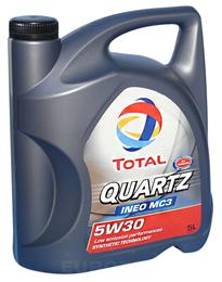 TOTAL QUARTZ INEO MC3 5W30 5L ULJE ZA MOTOR